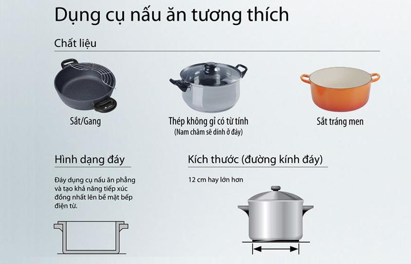 Dụng cụ nấu bếp từ