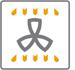 Lò nướng Fagor 6H - 176AX giữ ấm thức ăn