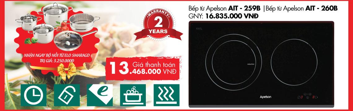 Bếp từ Apelson AIT - 259B