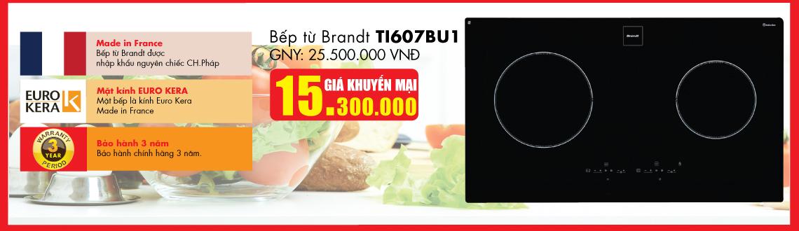 Bếp từ BRANDT TI607BU1