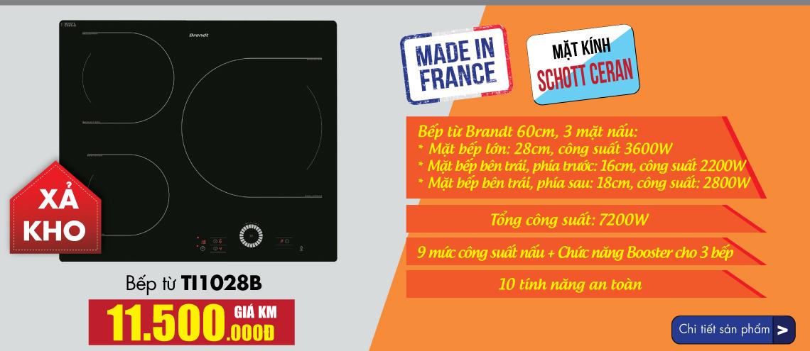 Bếp Từ Brandt TI1028B