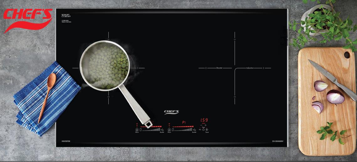 Giới thiệu Bếp từ đôi Chefs EH-DIH88V