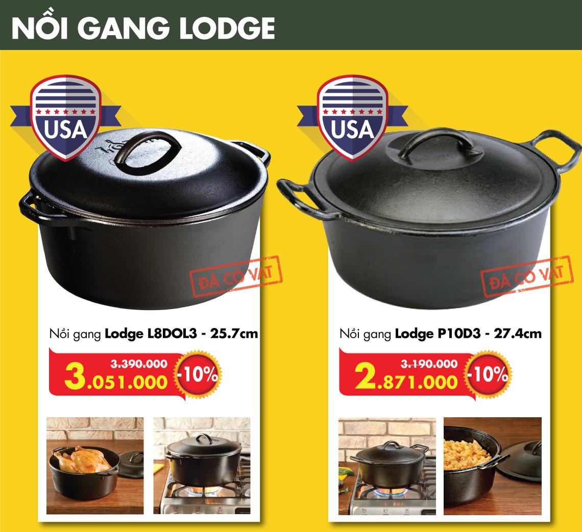 Đồ gia dụng gang Lodge