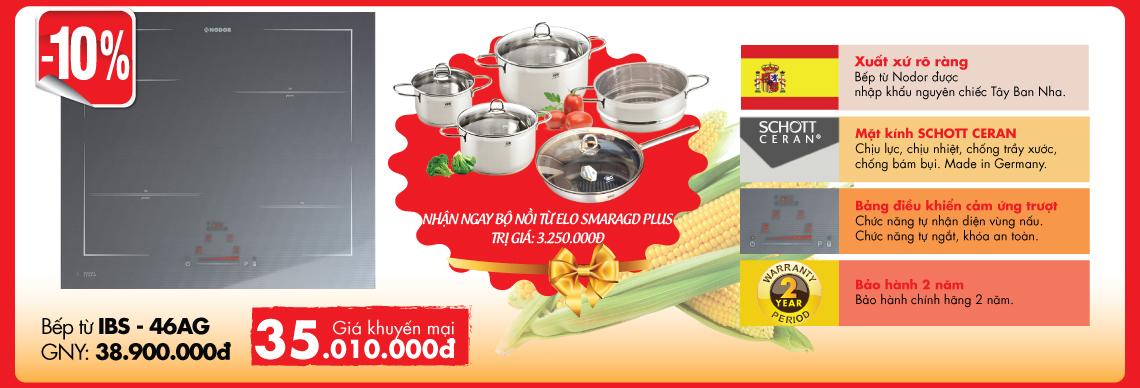 Khuyến mại bếp Nodor
