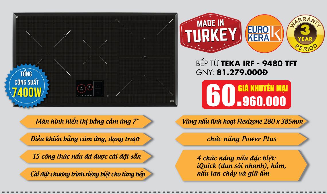 Bếp từ Teka IRF 9480TFT