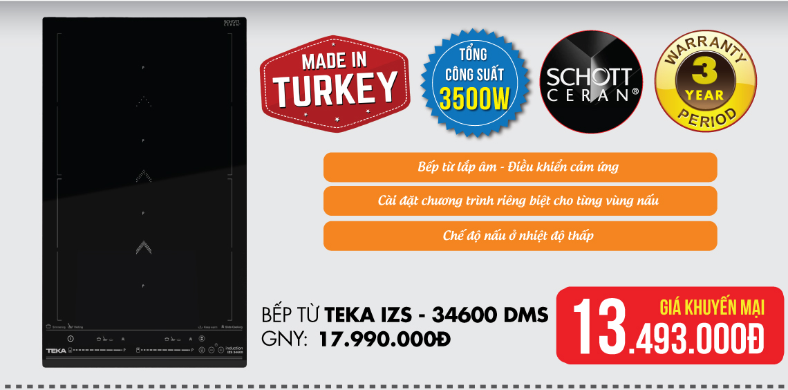 Bếp từ Teka IZS 34600 DMS