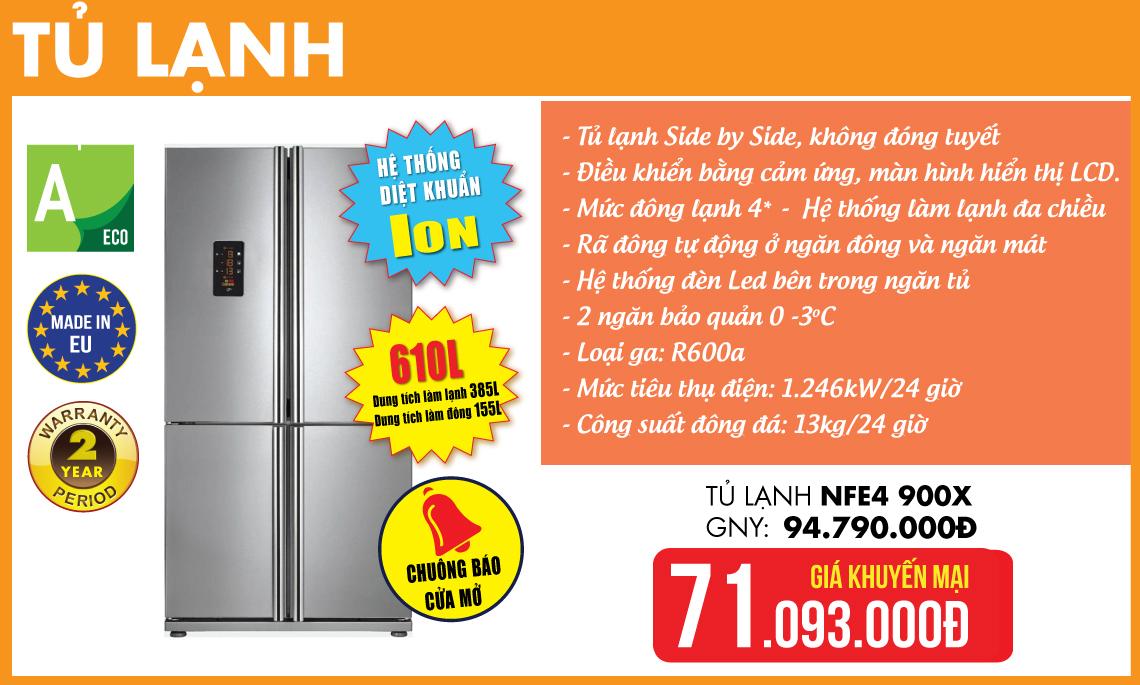 Tủ lạnh Teka Khuyến mại