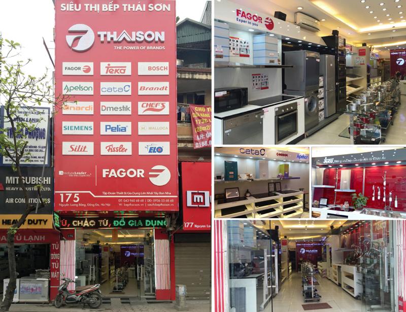 Showroom Bếp Thái Sơn tại 175 Nguyễn Lương Bằng - Đống Đa - Hà Nội