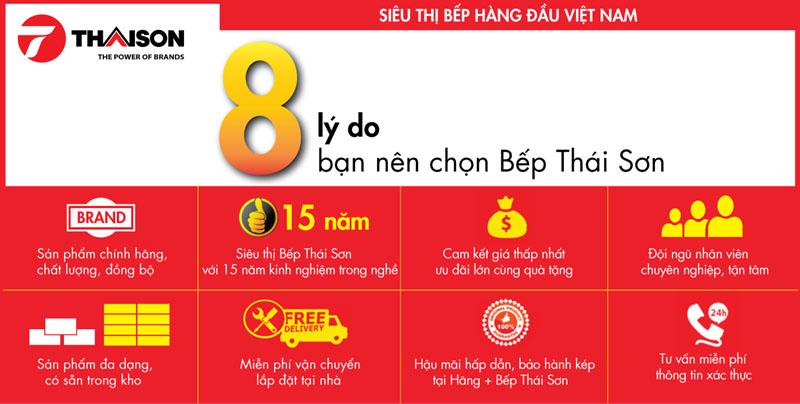 8 lý do góp phần tạo nên sức mạnh thương hiệu Bếp Thái Sơn