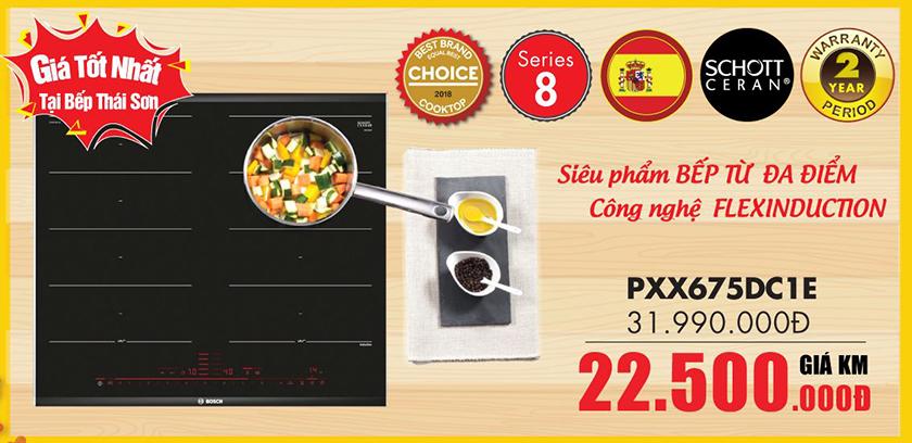 Bếp từ Bosch đa điểm PXX