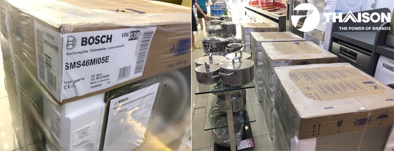 Khuyến mại máy rửa bát Bosch SMS46MI05E