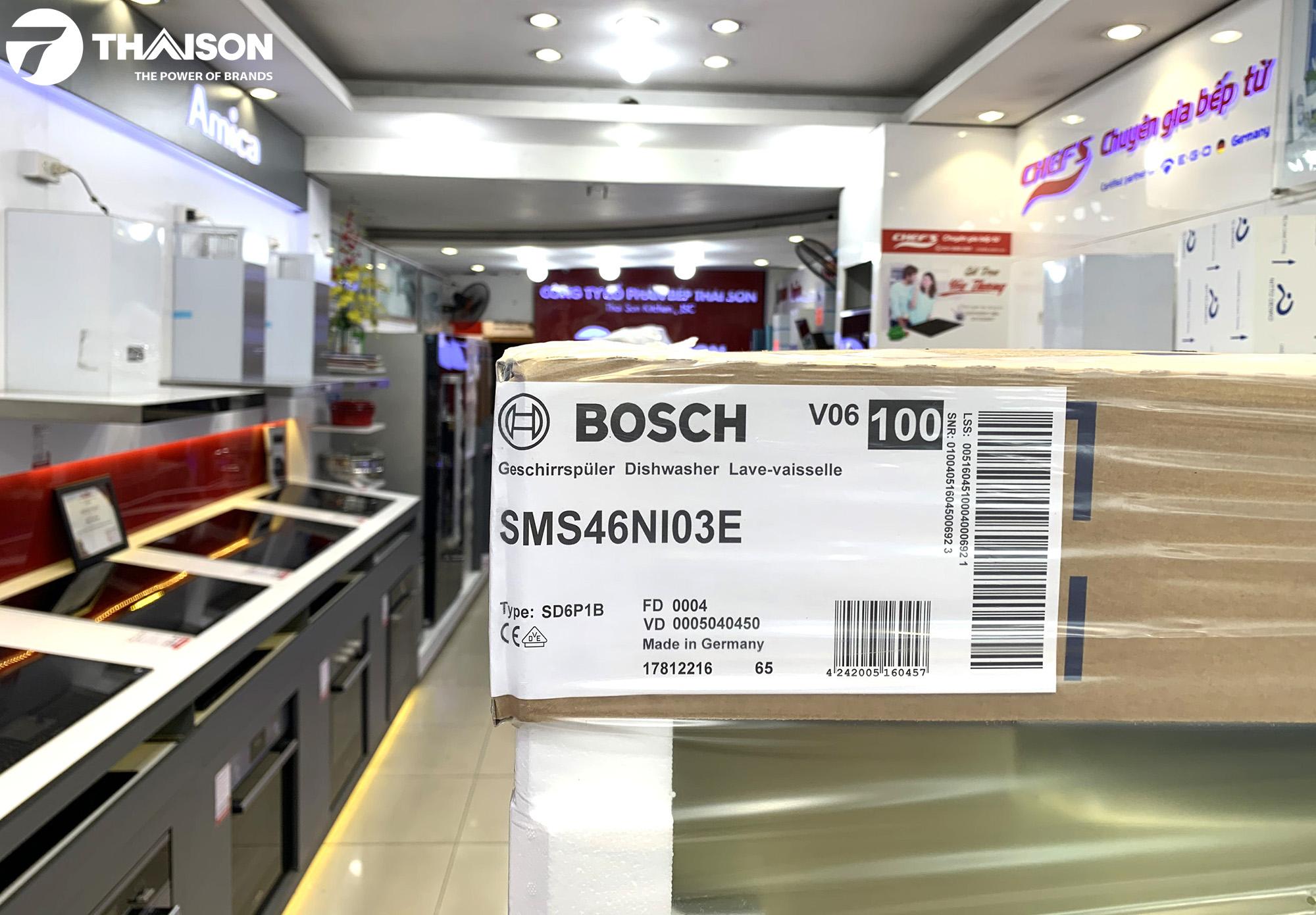 Bosch SMS46NI03E tại Showroom Siêu thị Bếp Thái Sơn.
