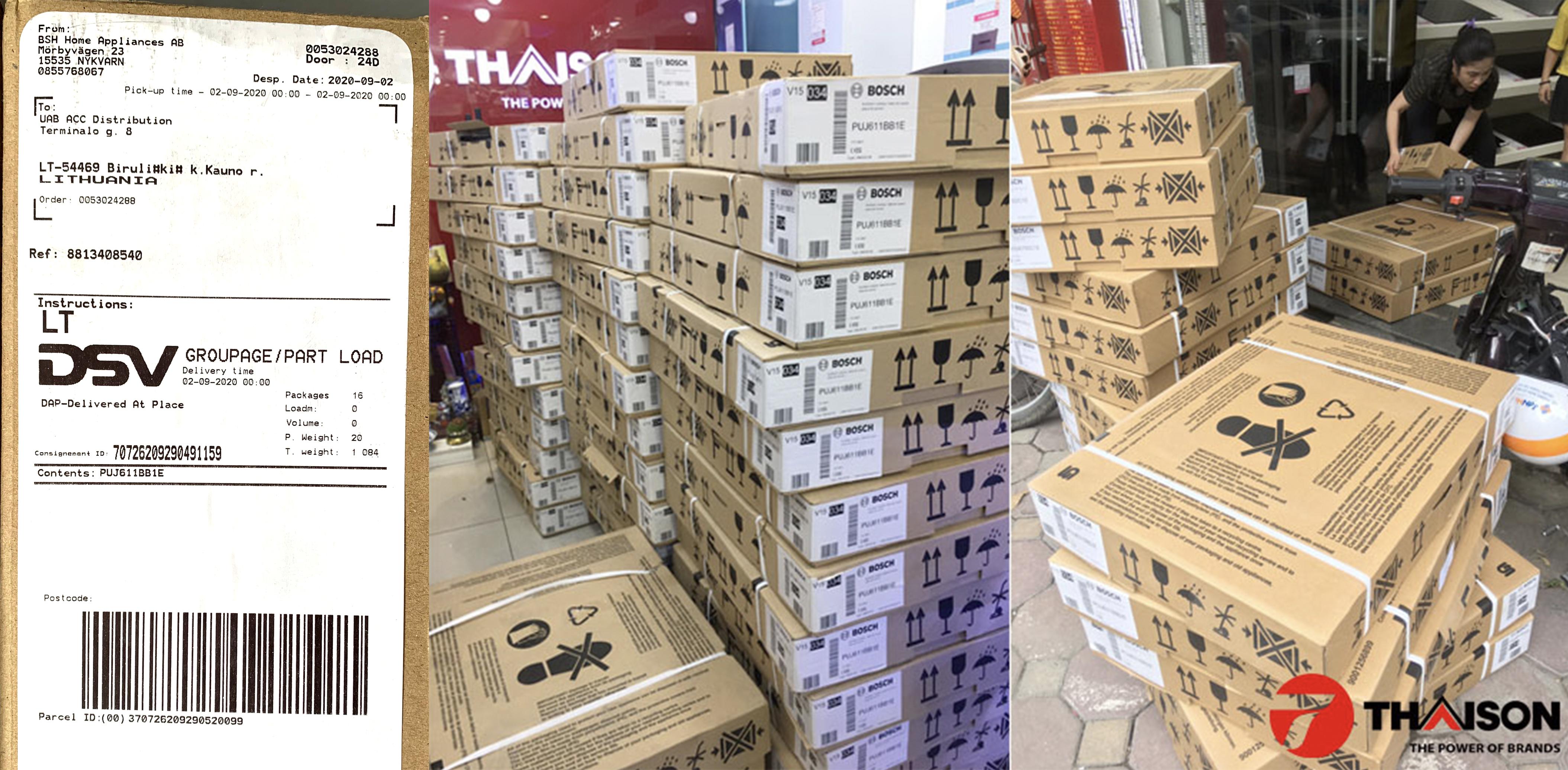 Lô Bếp từ Bosch PUJ611BB1E mới nhất tại Bếp Thái Sơn.