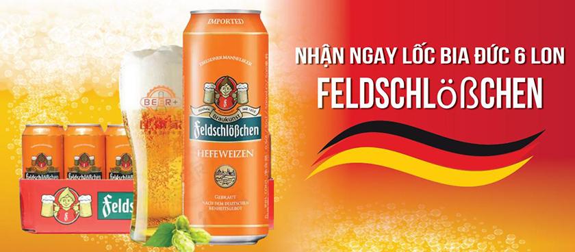 Mua bếp tặng bia Đức