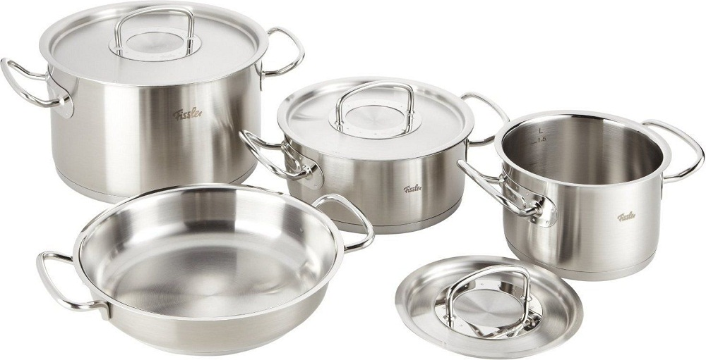 Bộ nồi Fissler Original Profi Collection 4 inox