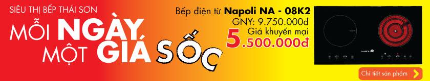 Bếp điện từ Napoli NA - 08K2