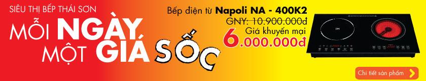 Bếp điện từ Napoli NA - 400K2