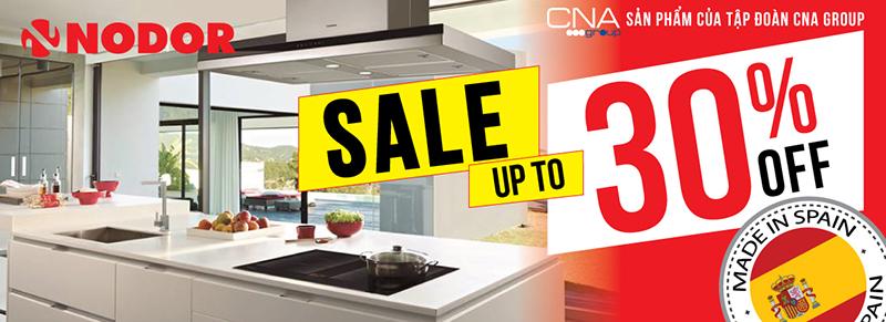 Thiết bị bếp Nodor Big Sale 30%