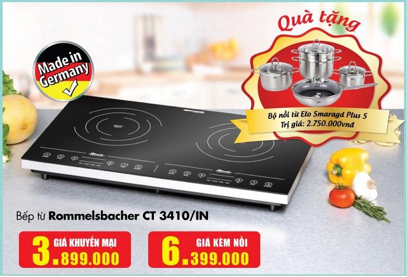 Khuyến mại bếp từ Rommelsbacher