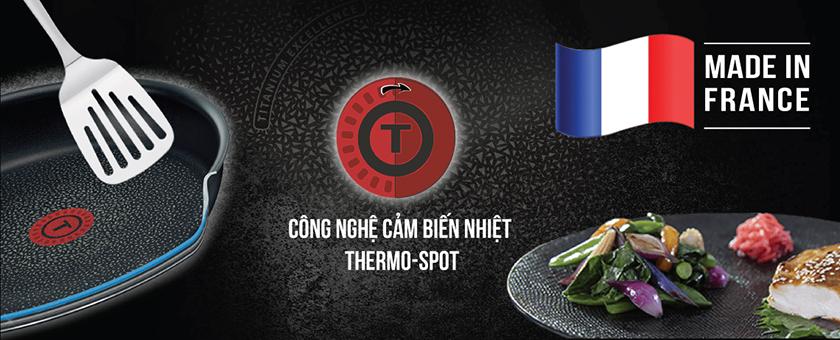 Công nghệ Thermo-Spot cảm biến nhiệt