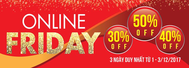 Online Friday - ngày hội mua thiết bị bếp tại Bếp Thái Sơn