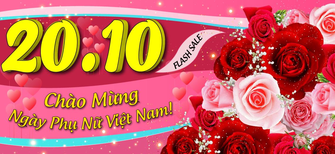 Chương trình khuyến mại 20/10 tại Bếp Thái Sơn.