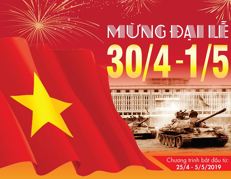 Mừng Đại lễ ưu đãi lớn tại Bếp Thái Sơn