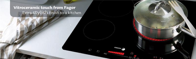 Với bếp điện từ Fagor I - 230TS yên tâm vào bếp