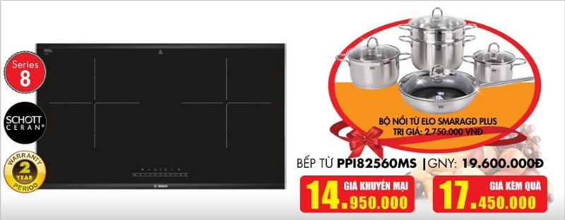 Giá bếp từ Bosch