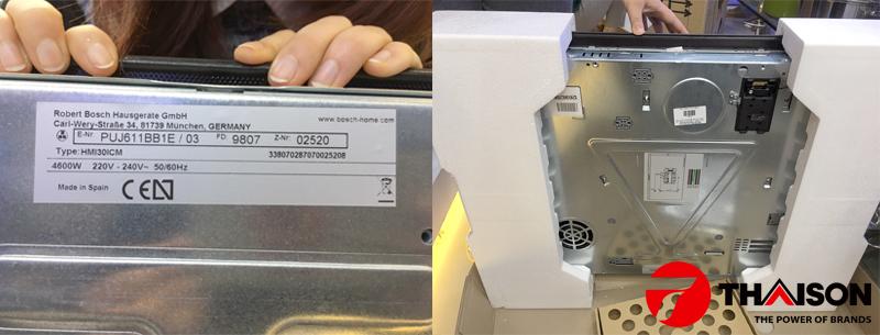 Giá bếp từ Bosch PUJ611BB1E