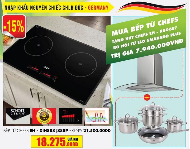 Báo giá bếp từ Chefs EH-DIH888