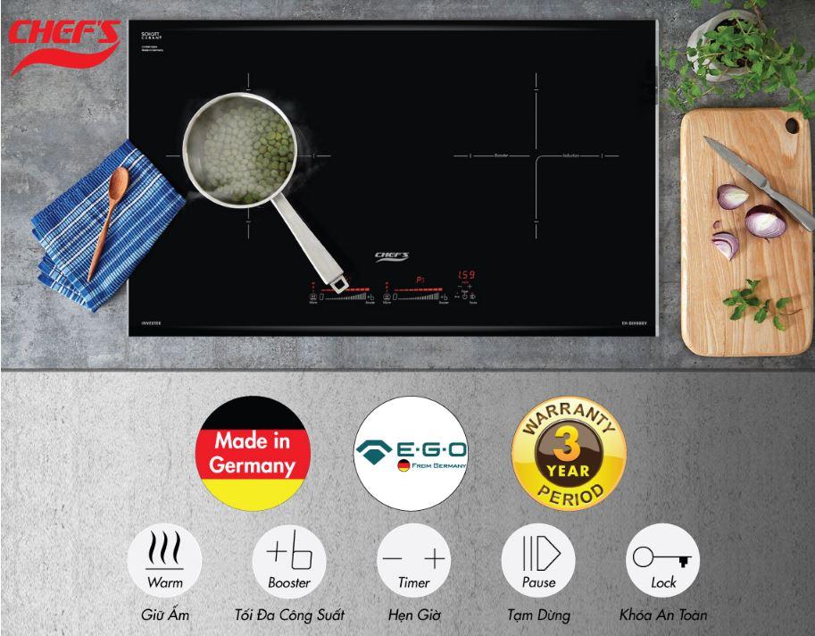 Giá bếp từ Chefs EH-DIH888V