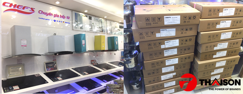 Phân phối bếp từ Chefs EH-DIH888V