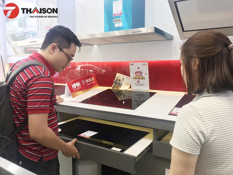 Anh Nguyễn Tuấn Khoa đánh giá cao chất lượng sản phẩm và giá bán hợp lý của Bếp Thái Sơn