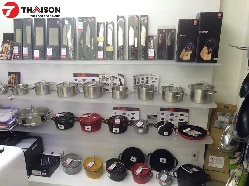 Bếp Thái Sơn cung cấp các sản phẩm chính hãng của Zwilling
