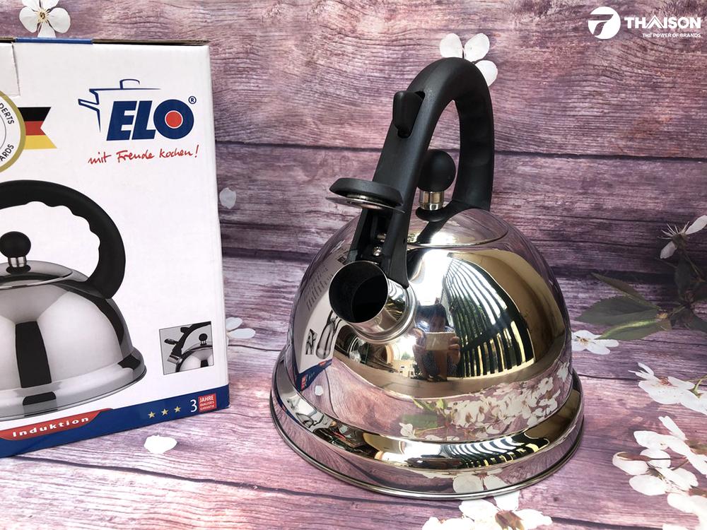 Ấm đun nước Elo Ronda dung tích 3 lít sử dụng cho bếp từ.