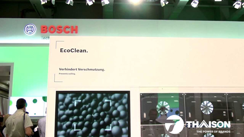 Eco Clean - công nghệ làm sạch hiệu quả của lò nướng Bosch