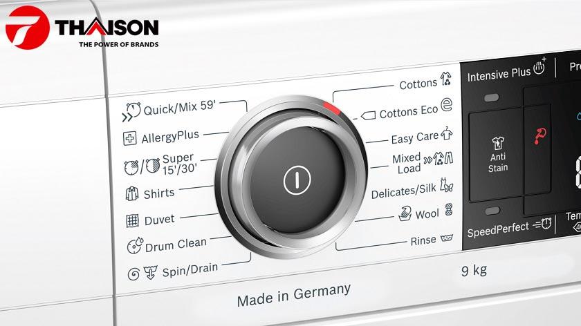 Công nghệ AntiStain trên máy giặt Bosch