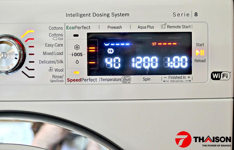 Máy giặt Bosch công nghệ VarioPerfect