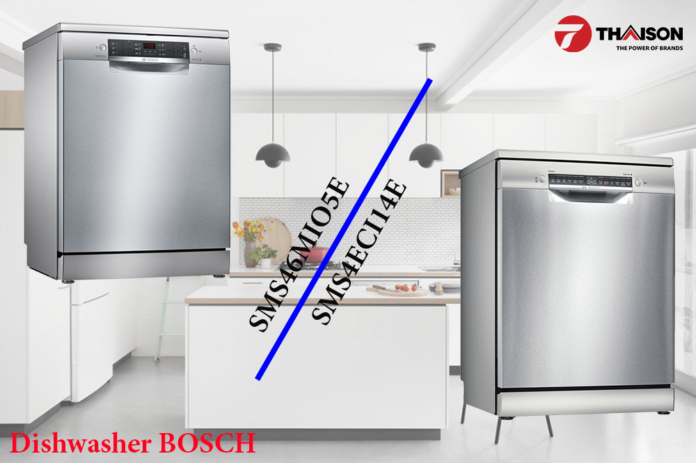 Máy rửa bát Bosch serie 4 đời mới 2021