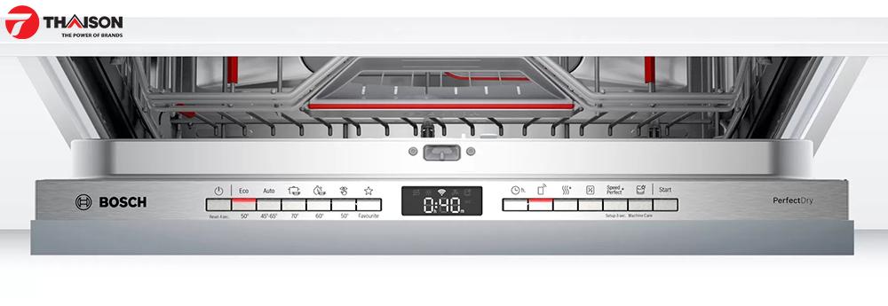 Bảng điều khiển máy rửa bát Bosch SMV6ZCX07E.