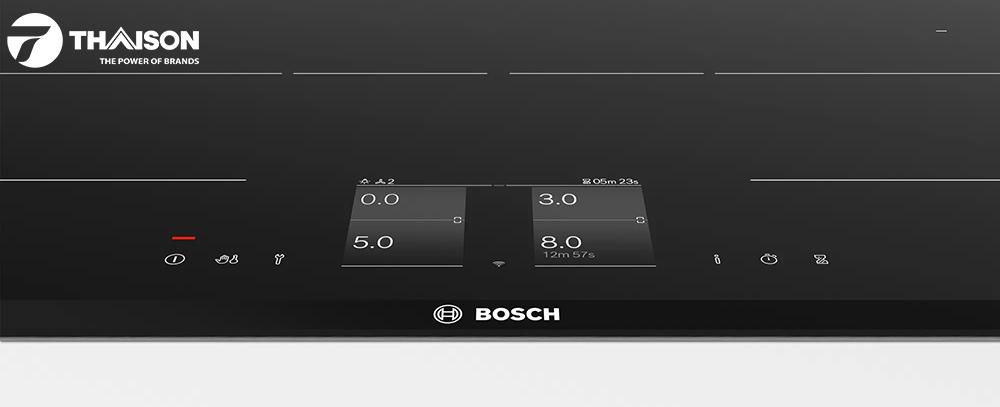 Bảng điều khiển LCD bếp từ Bosch