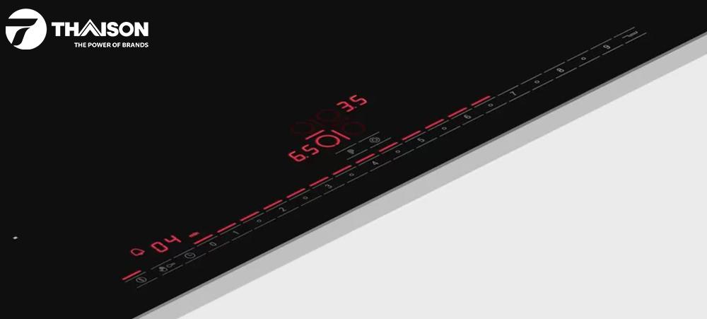 Bảng điểu khiển bếp Bosch có bộ đếm thời gian