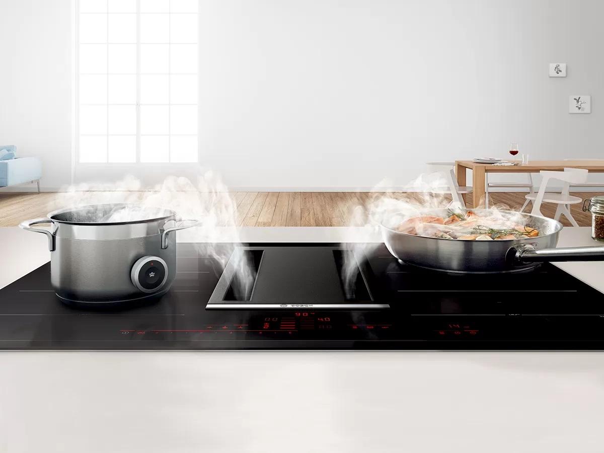 Bếp từ Bosch vùng nấu kết hợp