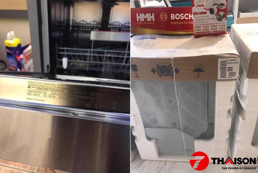 Máy rửa bát Bosch bán âm giá rẻ