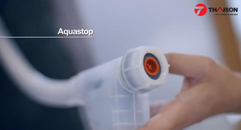 Công nghệ chống thiệt hại về nước AquaStop trên máy rửa bát Bosch.