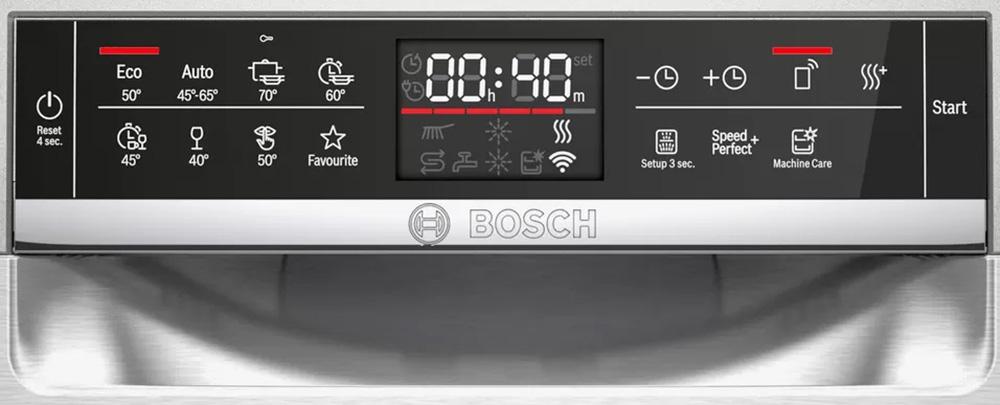 Bảng điểu khiển máy rửa bát Bosch SMS6ZCI49E.