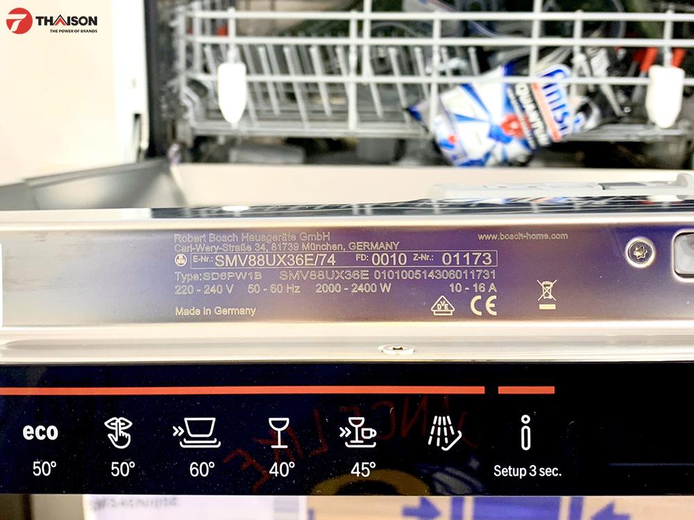 Máy rửa bát chuẩn xuất xứ Đức – Made in Germany.
