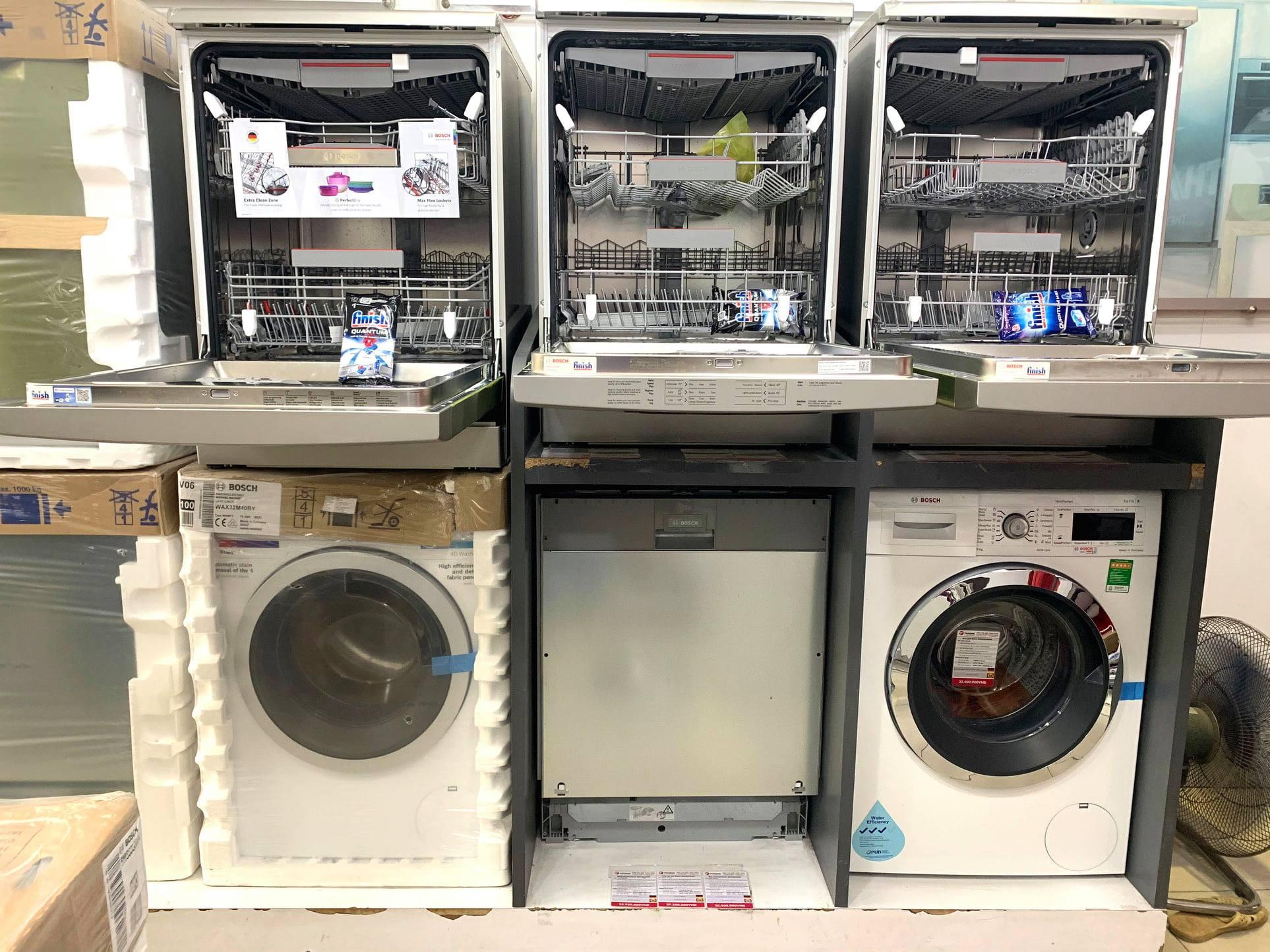 Máy rửa bát Bosch có sẵn tại Bếp Thái Sơn.