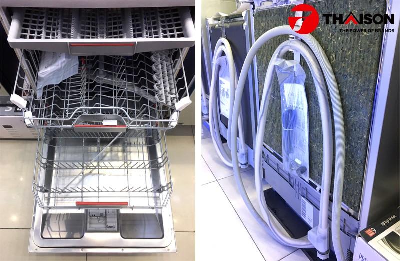 Hệ thống chống rò rỉ nước của máy rửa bát